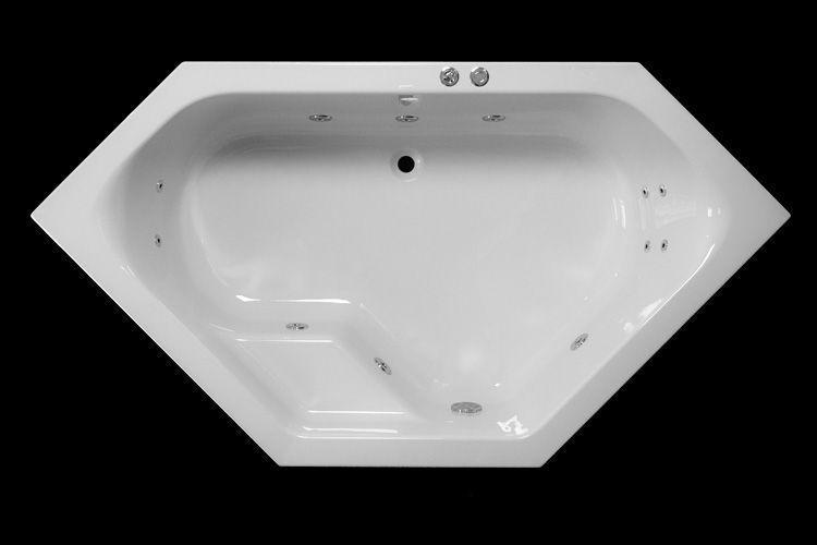 Lambini Designs Venetië Bubbelbad 145x145cm 6+4+2 hydro jets kopen doe je voordelig hier