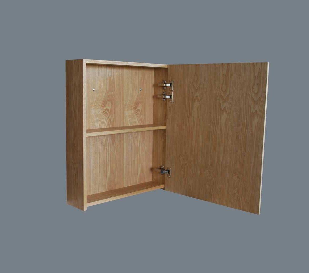 Lambini Designs Wood spiegelkast Eiken 58cm rechts