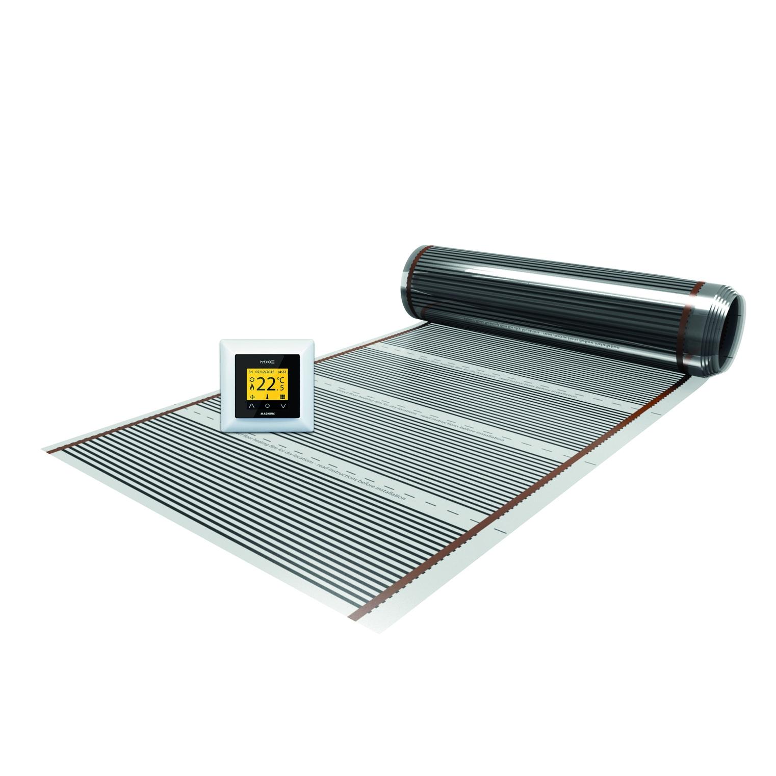 Magnum Foil elektrische vloerverwarming incl. klokthermostaat 15m2 1800W