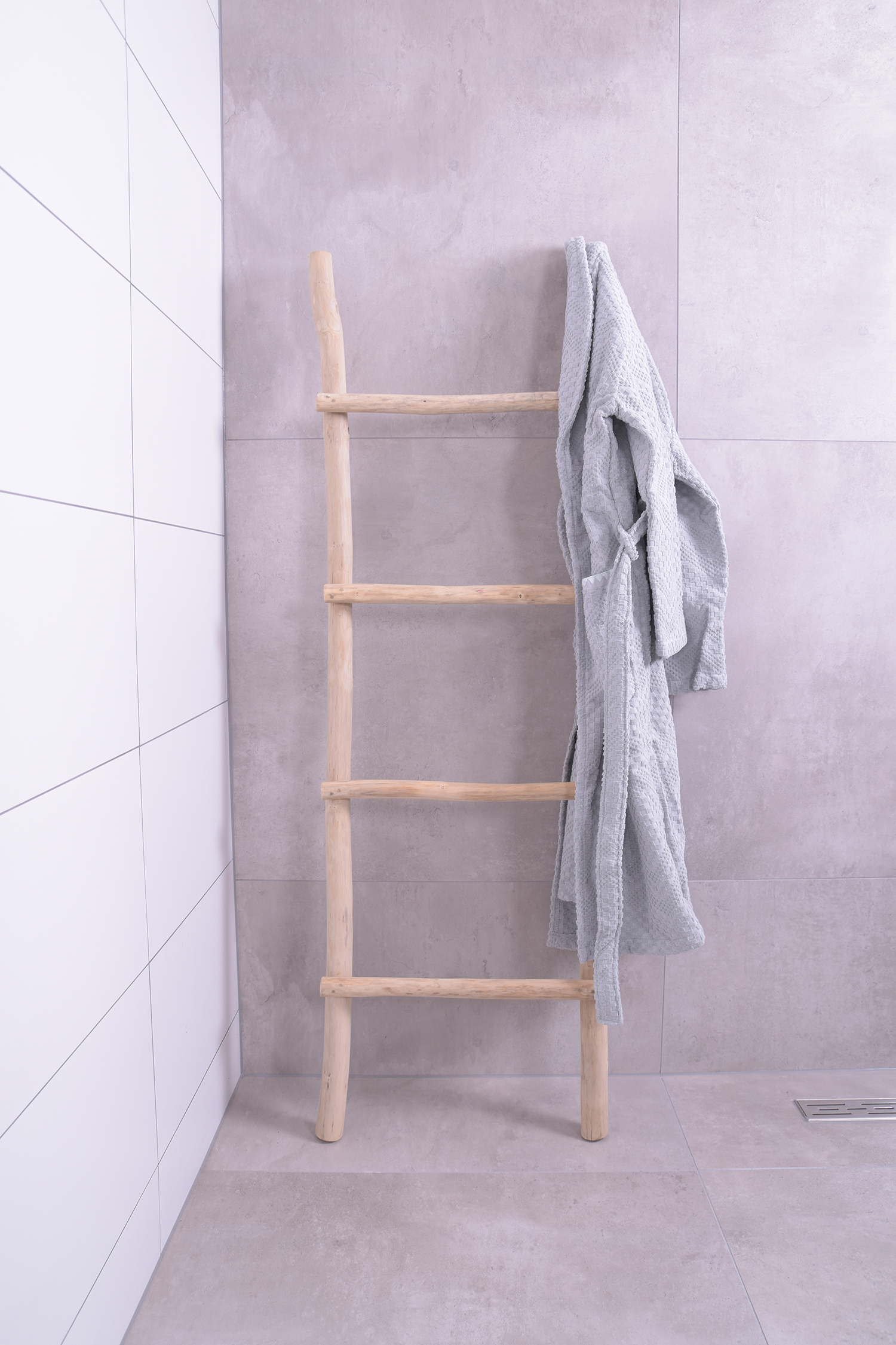 MD Interior Woody houten decoratie ladder 150cm