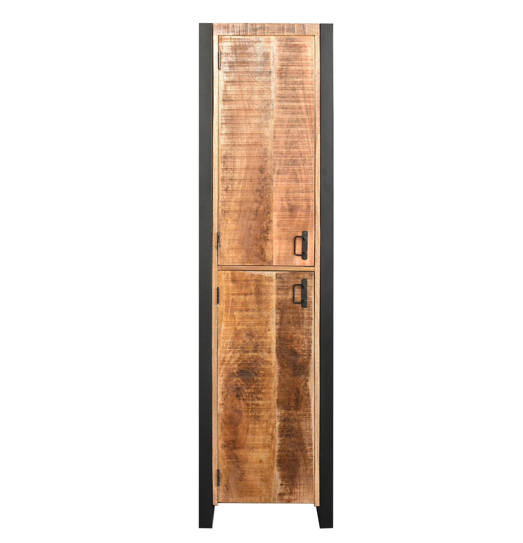 MD Interior Woodz badkamerkast 200x50x40cm links mangohout