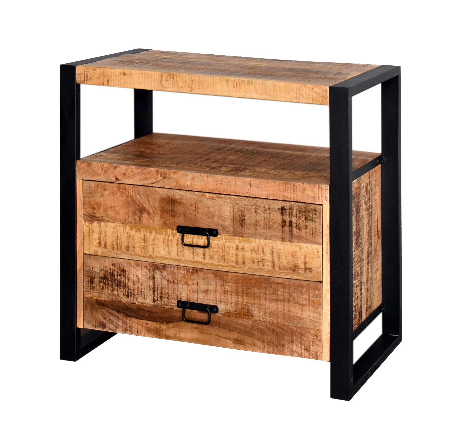 MD Interior Woodz badkamermeubel 80x45cm mangohout zonder kom