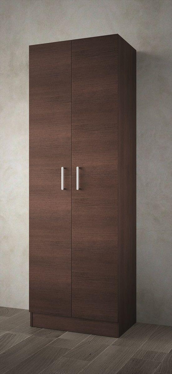 Muebles Auxi badkamerkast wenge 180x60x37cm 2 deuren