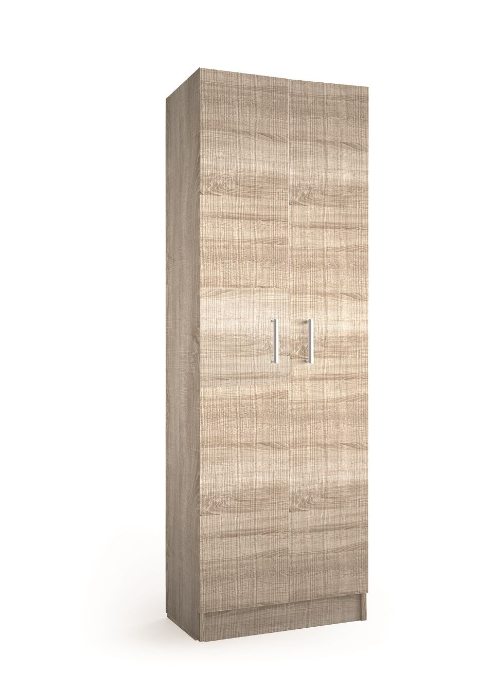 Muebles Auxi hoge opbergkast caledonia 180x60x37cm 2 deuren
