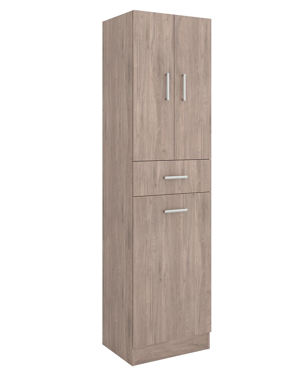 Muebles Auxi hoge opbergkast Colorado 180x48x37cm met wasklep