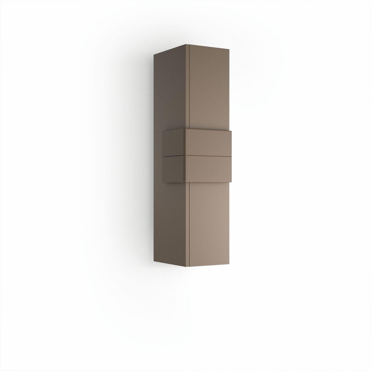 Muebles Cronos halfhoge badkamerkast 100cm mokka - mokka