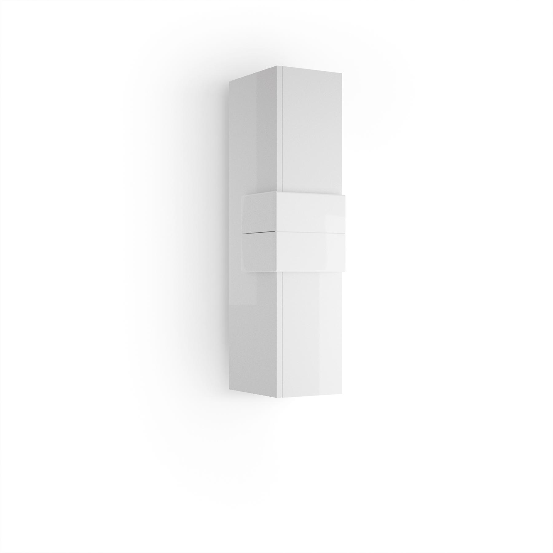 Muebles Cronos halfhoge badkamerkast 100cm wit - wit
