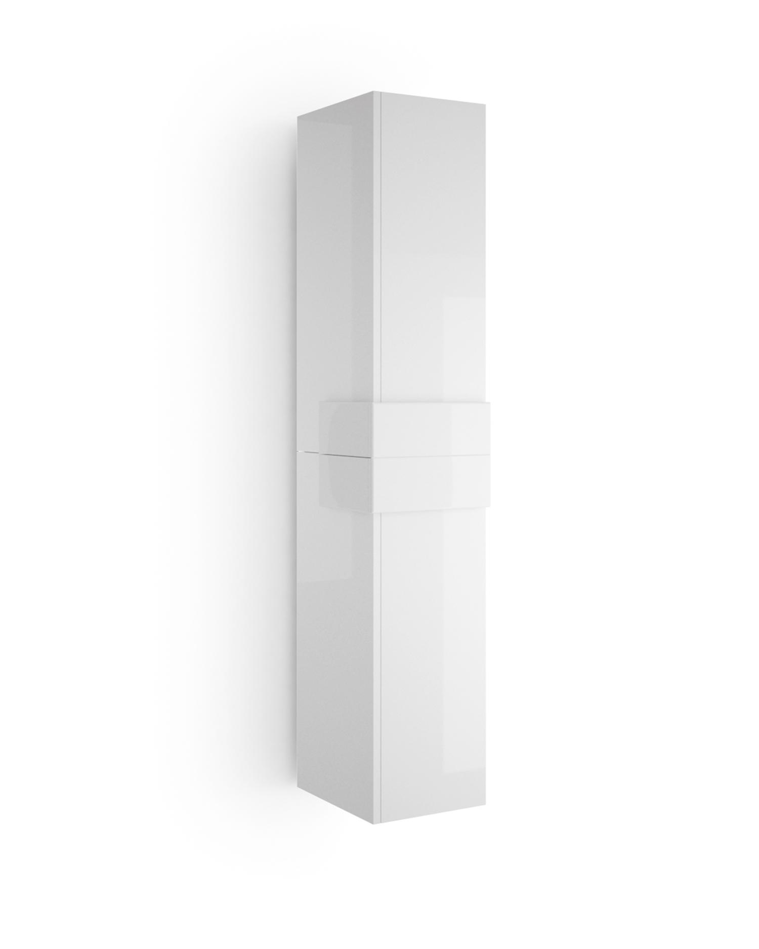 Muebles Cronos hoge kast 160cm wit - wit unieke afwerking