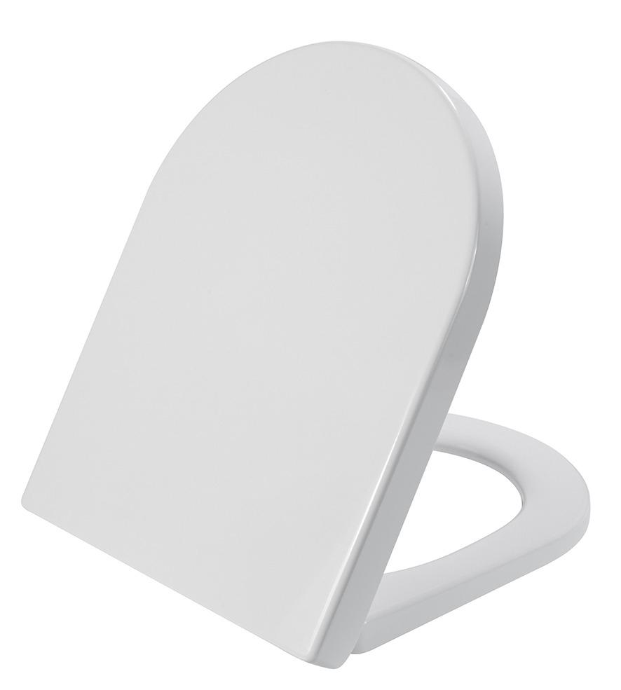 Mueller Afesta soft-close toiletzitting voor 52cm wandcloset mat wit
