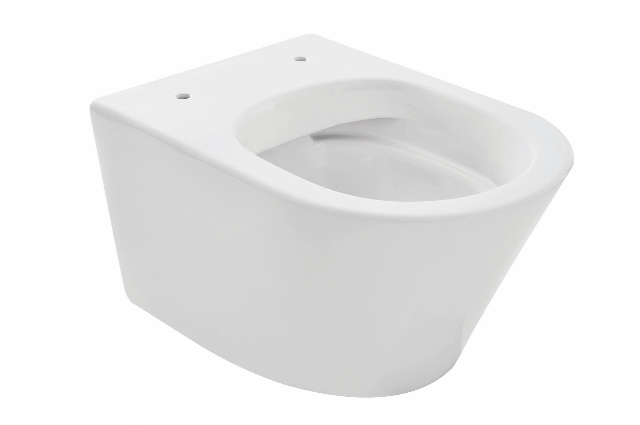 Mueller Afesta toiletpot randloos 52cm mat wit