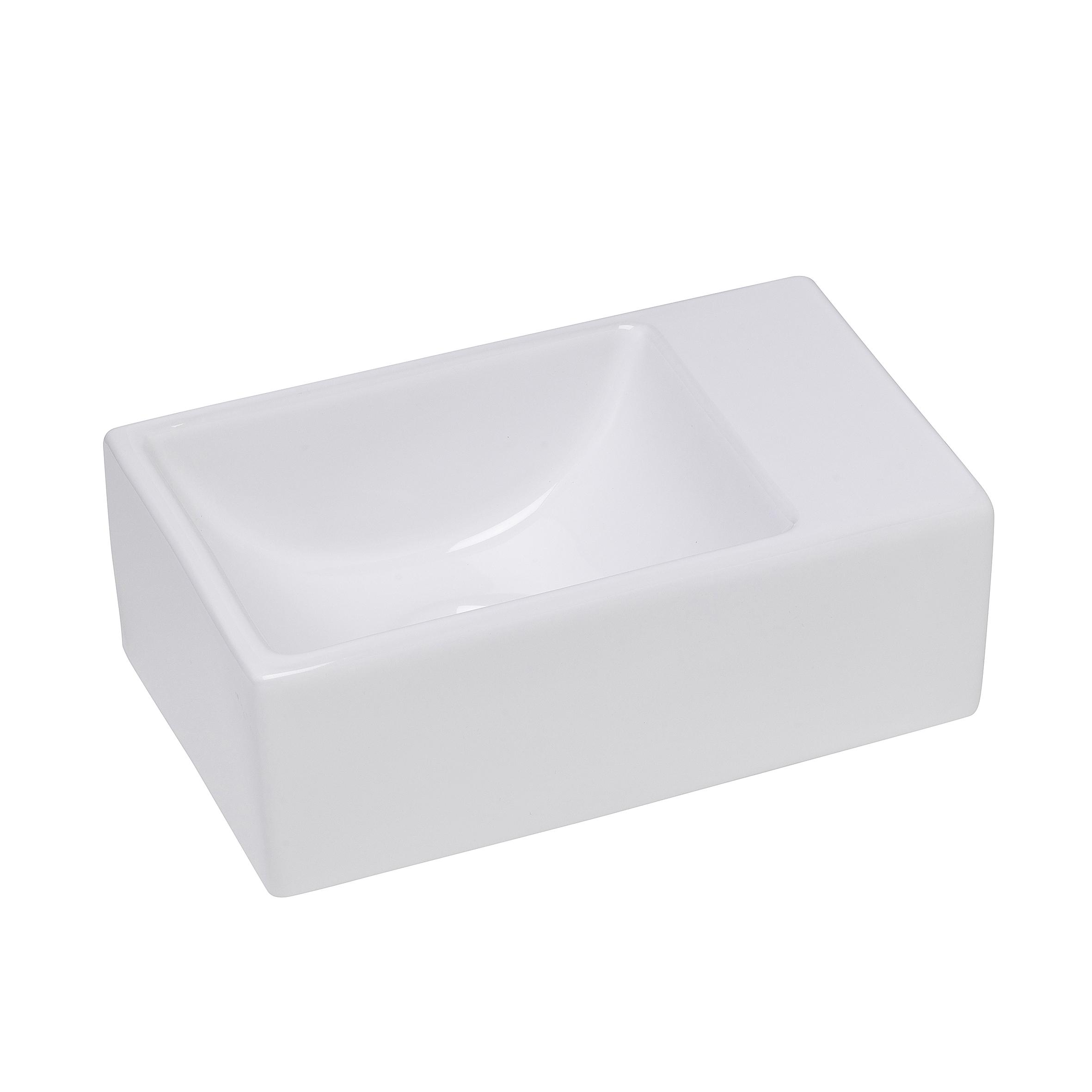 Mueller Apa XXS fontein 305x180x110 zonder kraangat wit