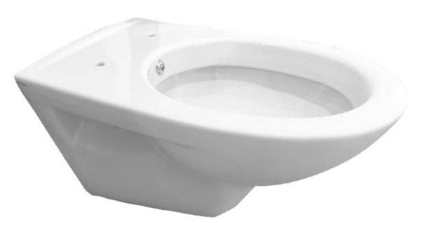Bidet Toilet Kopen : Mueller basic toilet met sproeier 49cm wit bidet