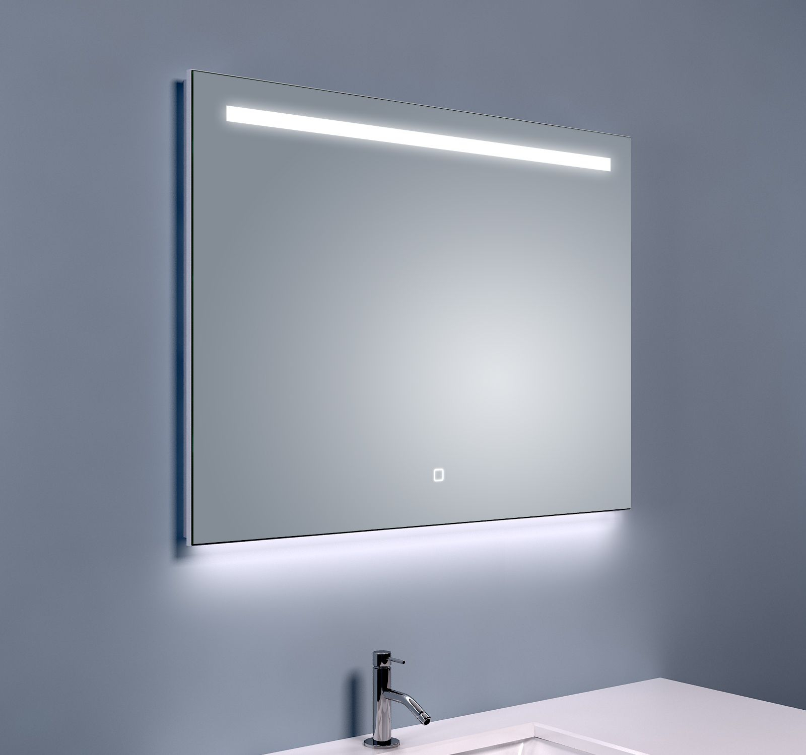 Mueller Beam spiegel met LED verlichting condensvrij 80x60cm