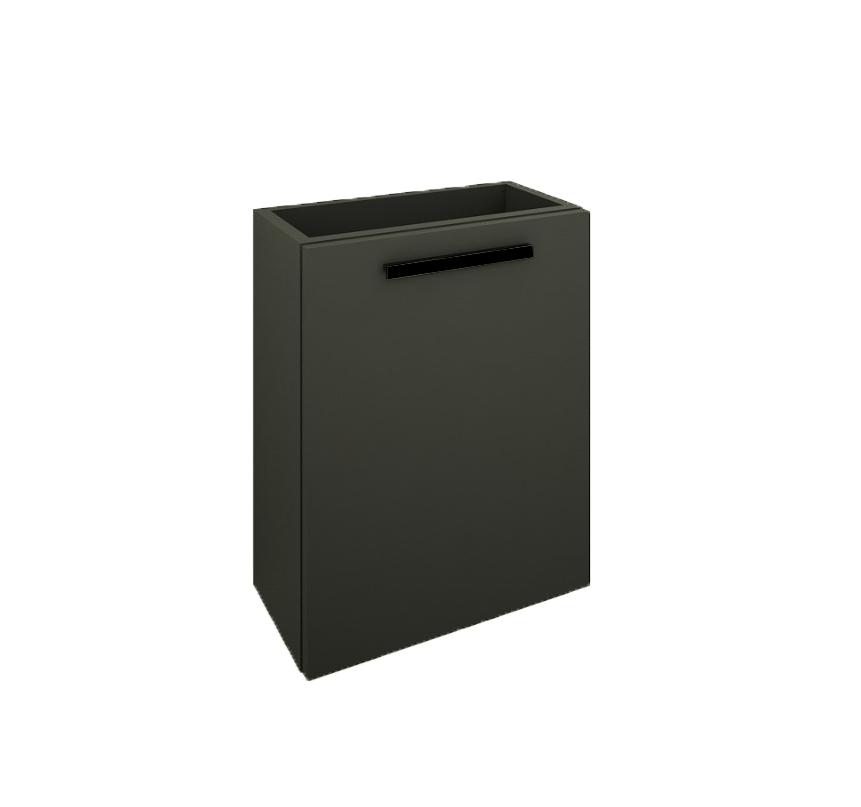 Mueller City fonteinkast 40x22cm mat zwart