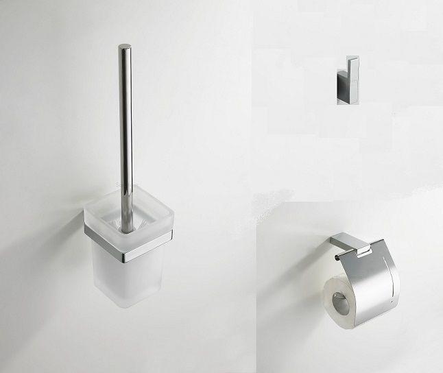 Mueller Cube toiletset chroom compleet