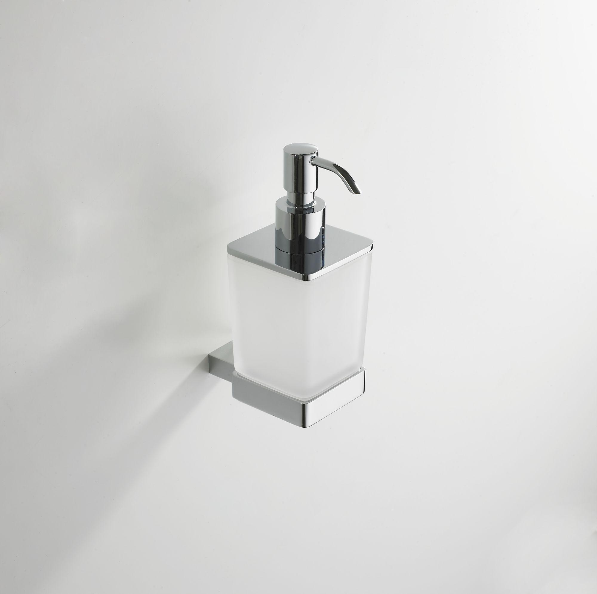 Mueller Cube zeepdispenser chroom