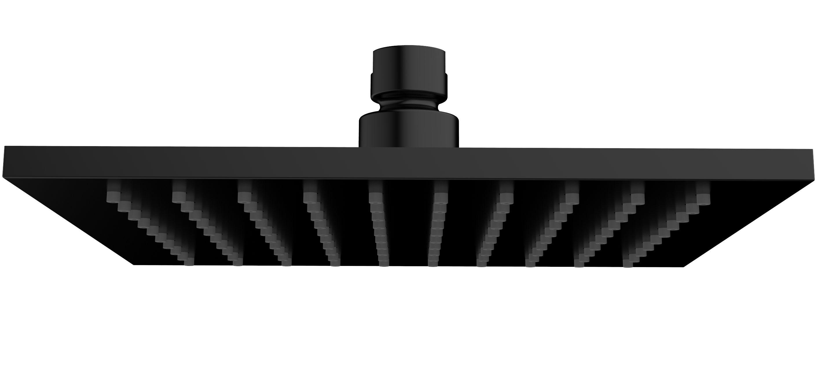 Mueller Cube zwarte regendouche 20cm