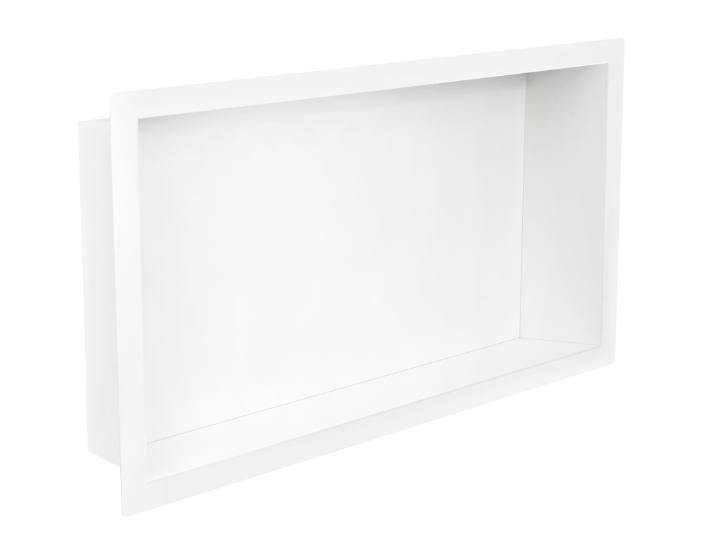 Mueller inbouwnis 30x60x7cm mat wit