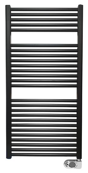 Mueller Jiro elektrische radiator mat zwart 118.5x60 700W