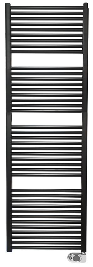 Mueller Jiro elektrische radiator mat zwart 182x60 1000W