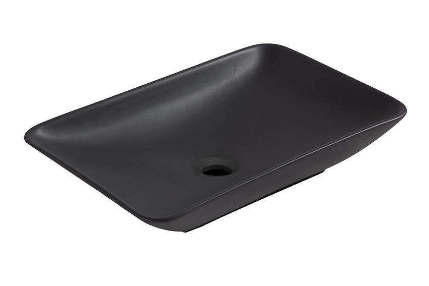 Badkamer accessoires mueller kare opzet wastafel cm mat