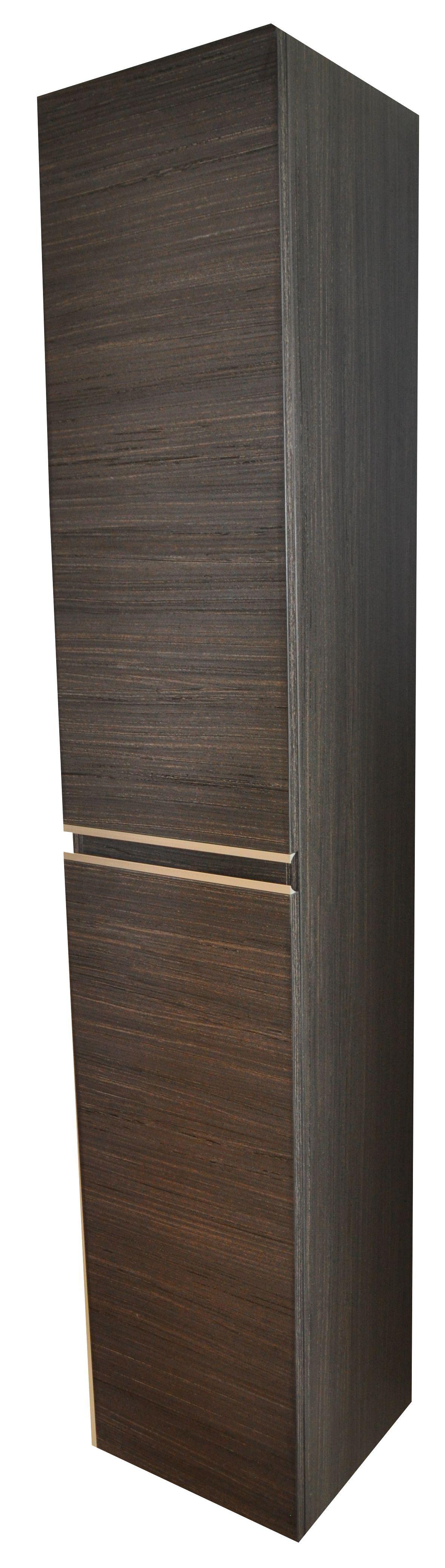 Mueller Lida badkamerkast 160x30x30cm houtnerf grijs