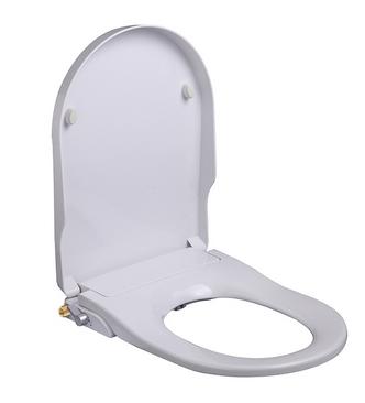 Productafbeelding van Mueller Luxe douche wc zitting met softclose wit