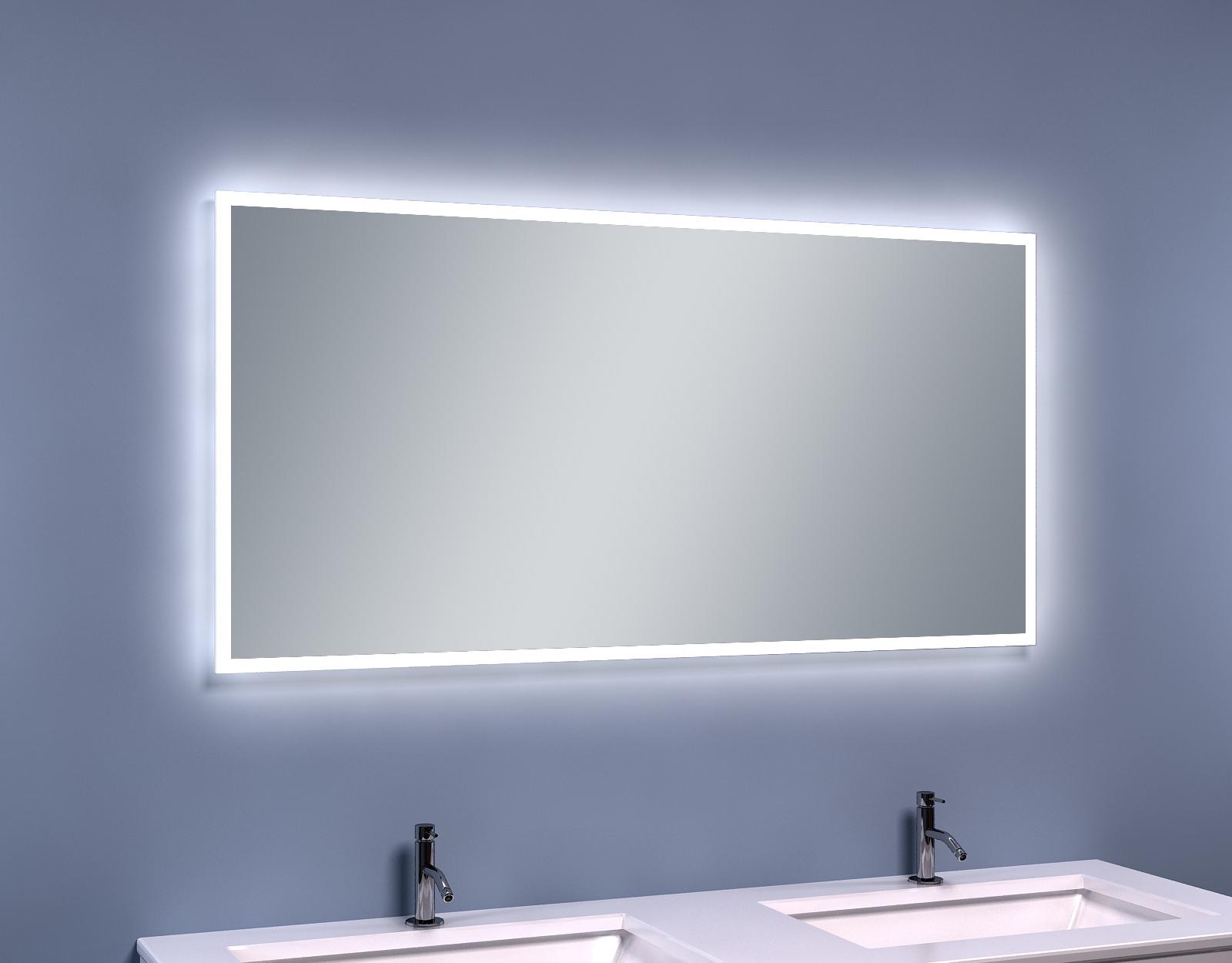 Mueller Quelle condensvrije LED spiegel 120x60cm