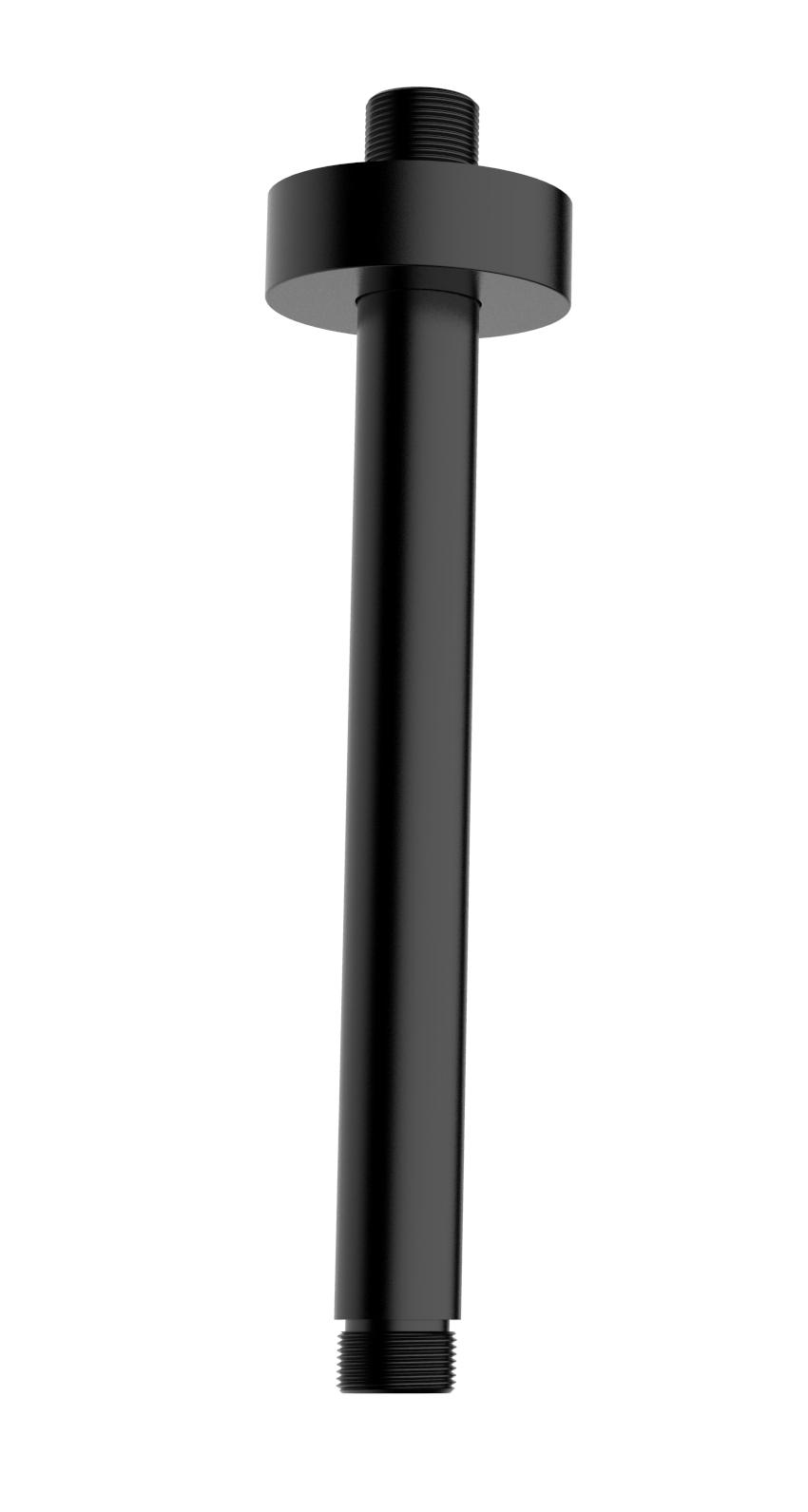 Mueller Round Black plafond arm mat zwart 20cm