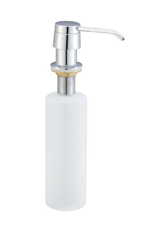 Mueller Round Inbouw zeeppompje chroom kunststof fles 250ml