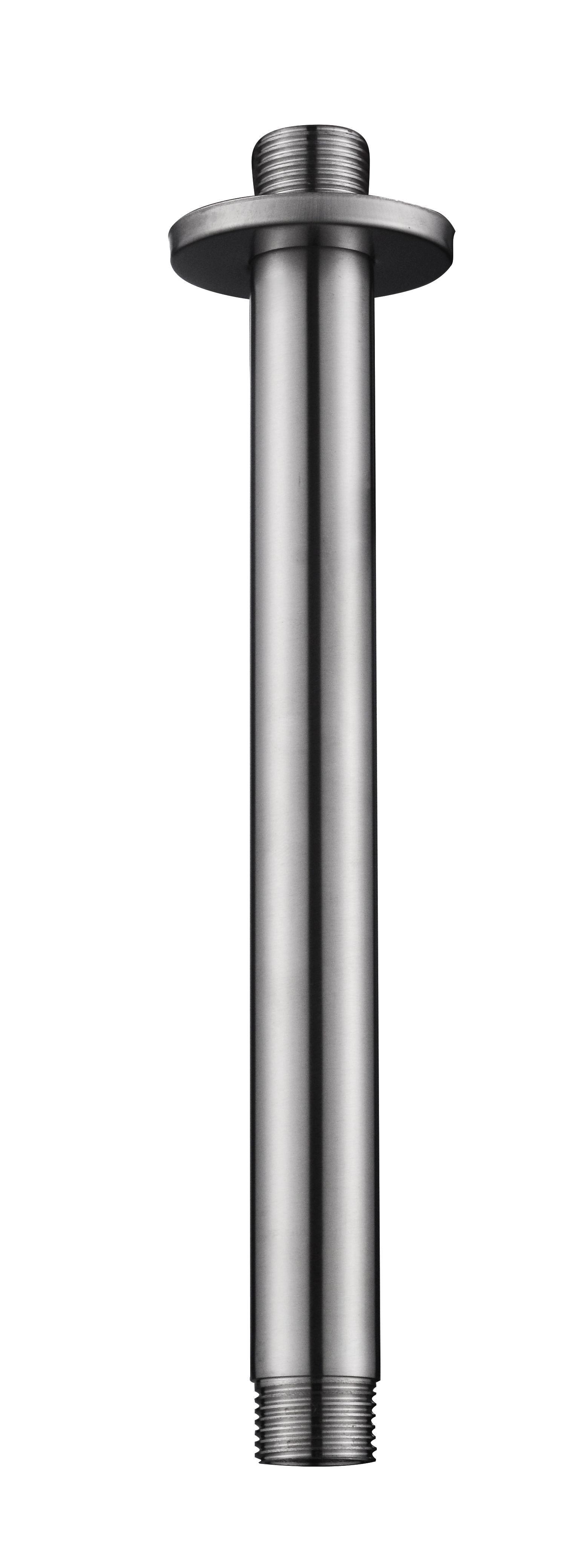 Mueller Round plafond arm RVS 20cm