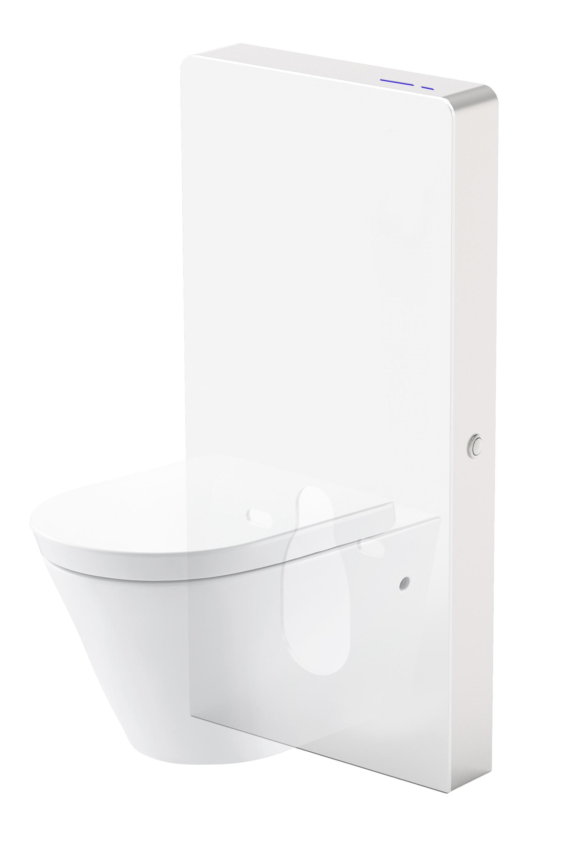 Mueller Sensor toilet reservoir inclusief ombouw wit