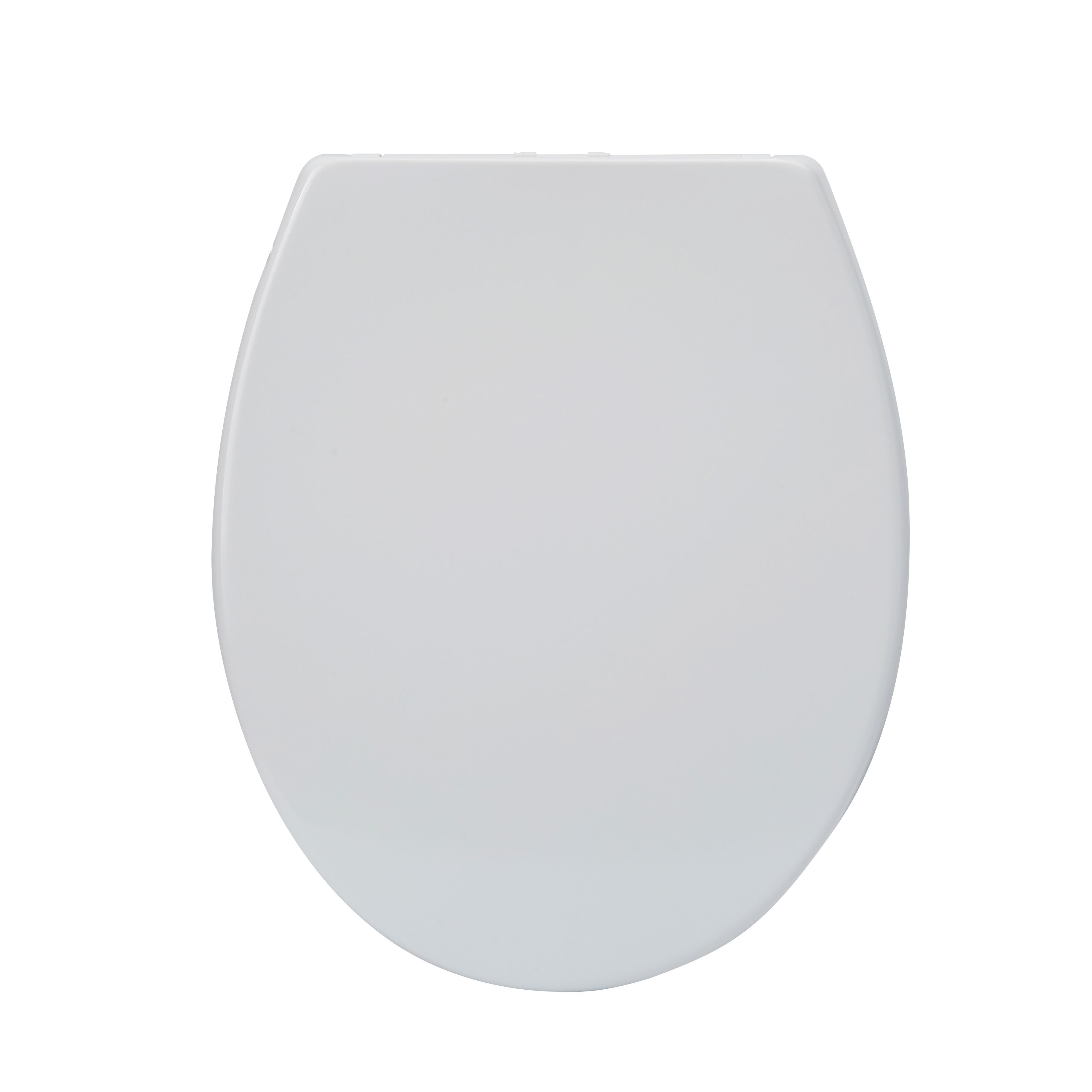 Mueller Sicilie softclose wc bril + deksel mat wit