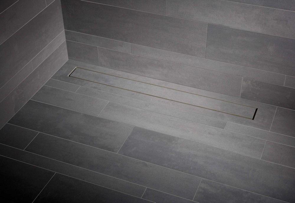 Mueller Tiles tegel douchegoot met flens 120x7cm