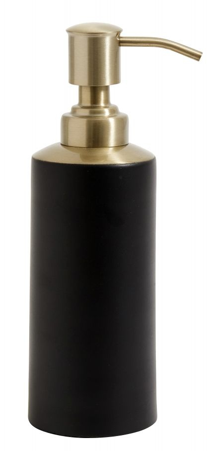 Nordal Denmark design zeeppomp zwart - brons - goud