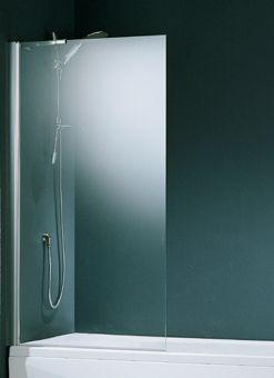 Novellini Aurora 5 badwand 1-delig 70x150cm wit/helder