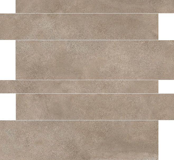 Badkamer accessoires paul en co madison tegelstroken taupe 5x10x15x60 rett - Grijze ruimte en taupe ...
