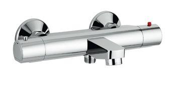 Plieger Bling badkraan thermostatisch HOH=15cm chroom