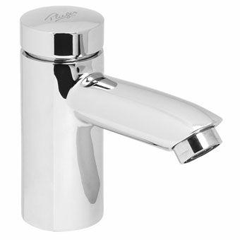 Plieger Clear toiletkraan zelfsluitend 1/2 chroom