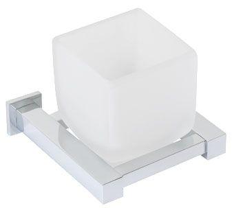 Plieger Cube bekerhouder matglas chroom