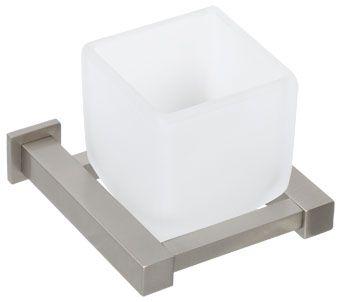 Plieger Cube bekerhouder matglas inox