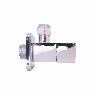 Plieger design hoekstopkraan vierkant 1/2bux10mm inox