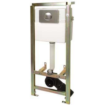Plieger Donau WC-element m. dualflush spoeling en frontbediening zelfdragend