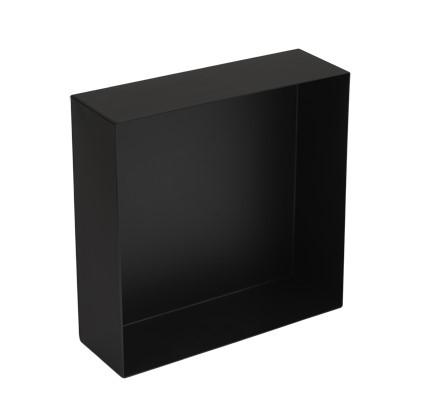 Plieger Inbox inbouwnis 30x30x10cm matzwart