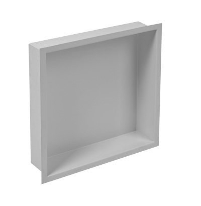 Plieger Inbox inbouwnis 30x30x7.5cm RVS
