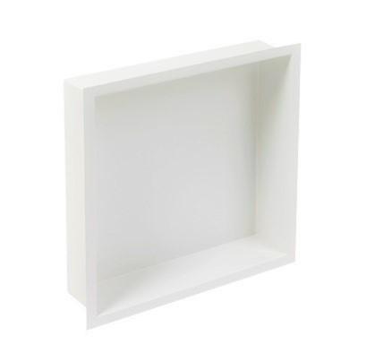 Plieger Inbox inbouwnis 30x30x7.5cm wit
