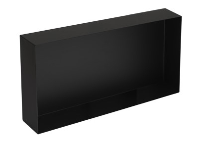 Plieger Inbox inbouwnis 60x30x10cm matzwart
