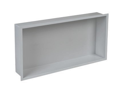 Plieger Inbox inbouwnis 60x30x7.5cm RVS