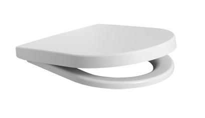 Plieger Kansas toiletzitting met softclose en quick release mat wit