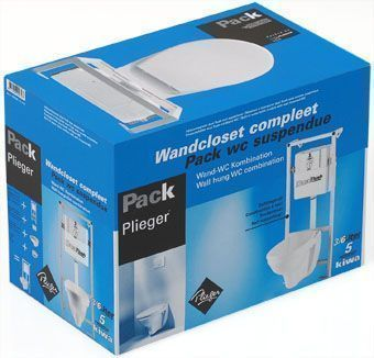 Plieger toiletpack dual flush compleet